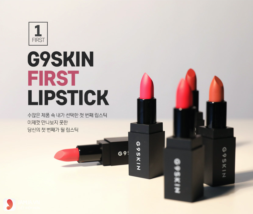 G9Skin First Lipstick review 2