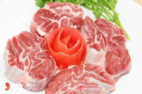 Giá trị dinh dưỡng của bắp bò 2
