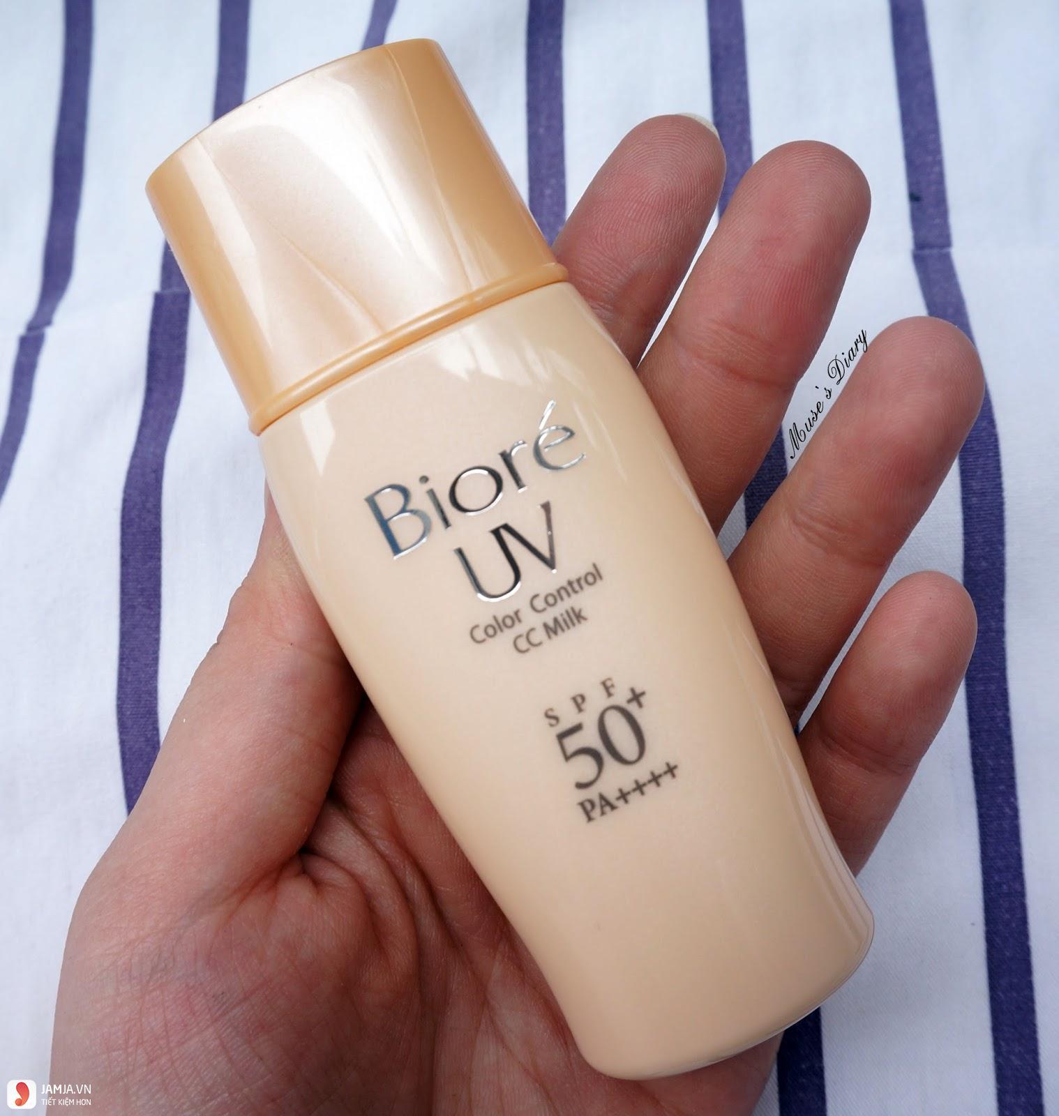Kem chống nắng Biore UV Color Control CC Milk