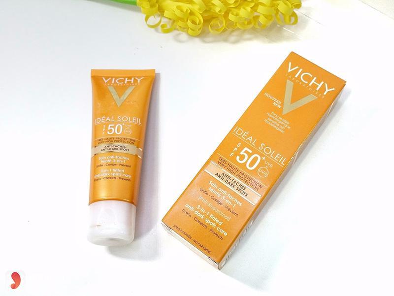 Kem chống nắng Vichy 2