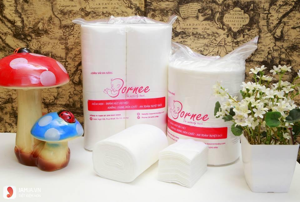 Khăn vải khô đa năng Bornee 1