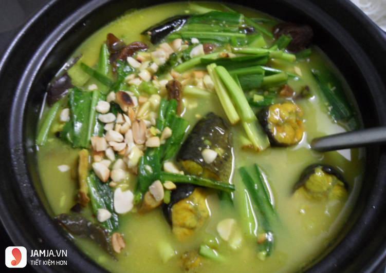 Lươn nấu nước nước cốt dừa 2