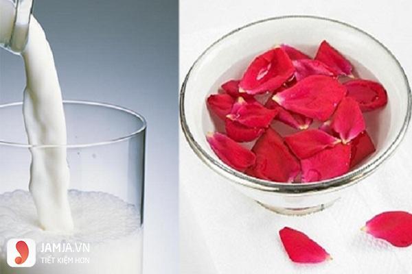 mặt nạ dưỡng môi bằng hoa hồng3