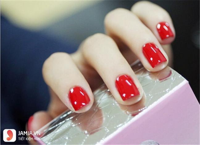 nail trơn màu đơn giản2