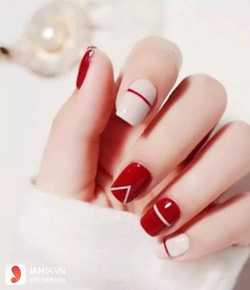 nail trơn màu đơn giản3