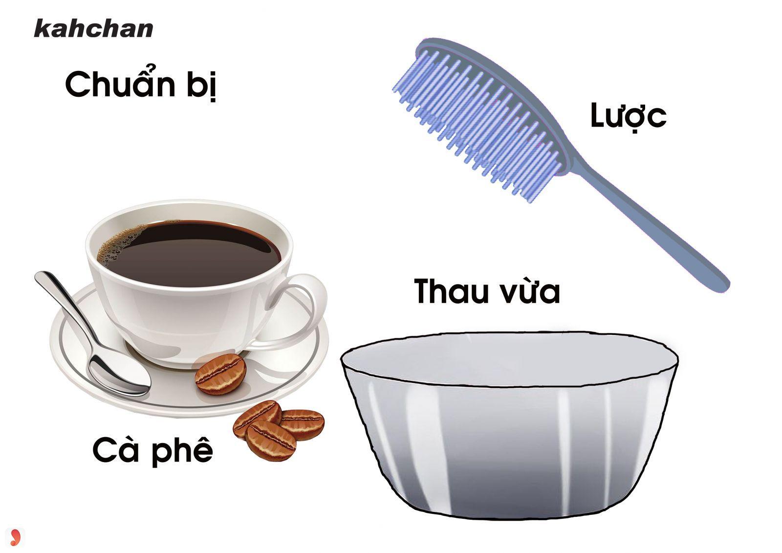 Nhuộm tóc nâu bằng cà phê 1