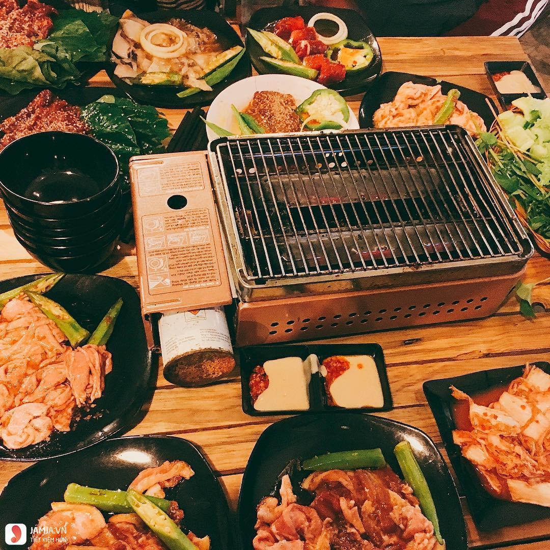 Món ăn ở Quán nướng Chu