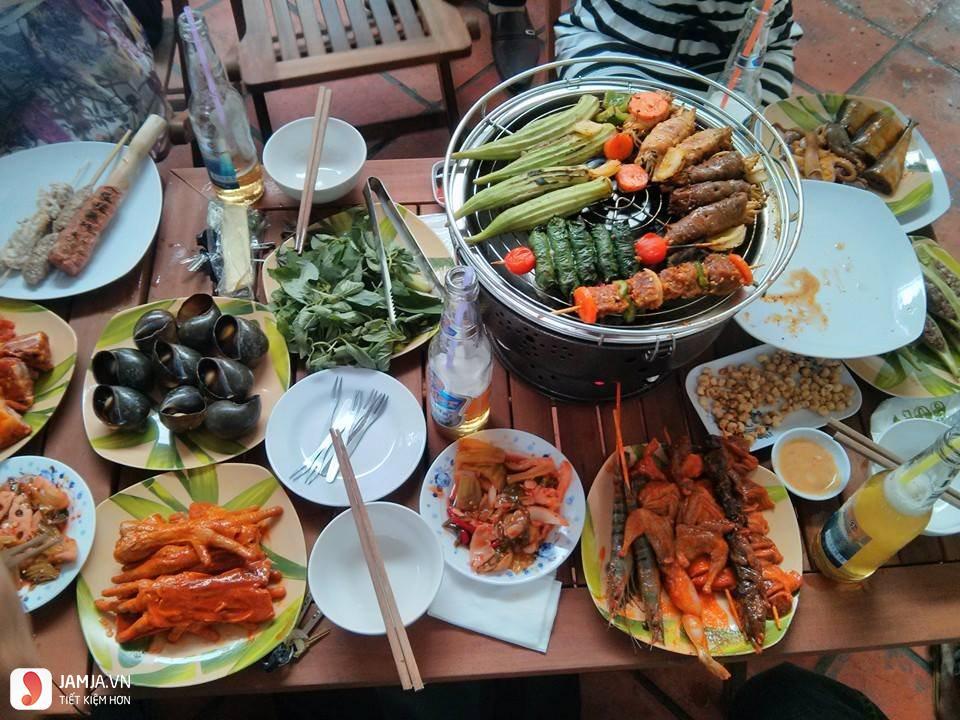 Ngói BBQ-Quán nướng ngon ở Đà Lạt