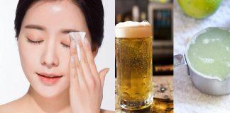 rửa mặt bằng bia có tác dụng gì