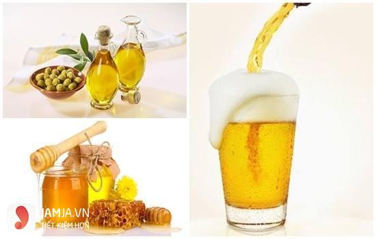 Làm mặt nạ dưỡng ẩm từ bia2