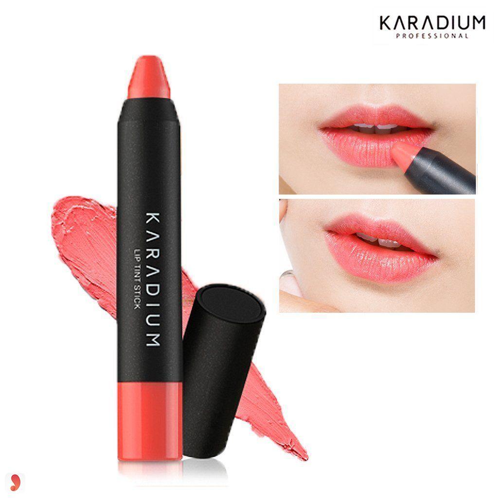 son Karadium Lips Tint Stick Sweet Peach