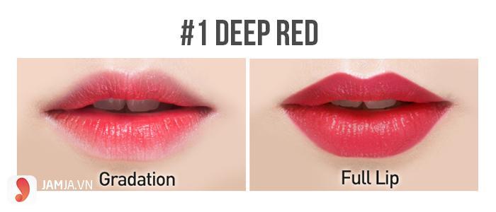 son Karadium Oh My Lips Deep Red