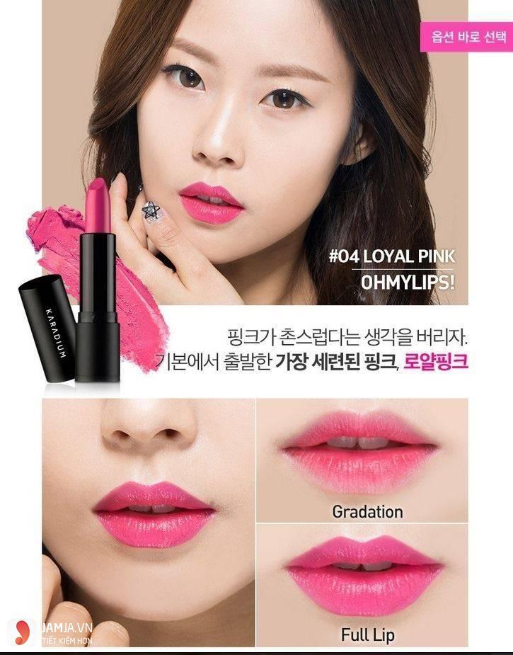 son Karadium Oh My Lips Loyal Pink