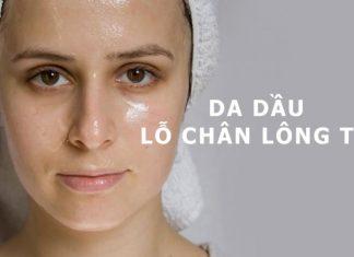 sữa rửa mặt dành cho da nhờn nữ