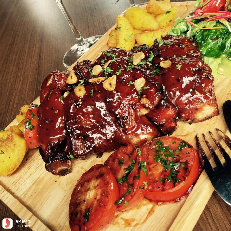 Sườn nướng BBQ 2