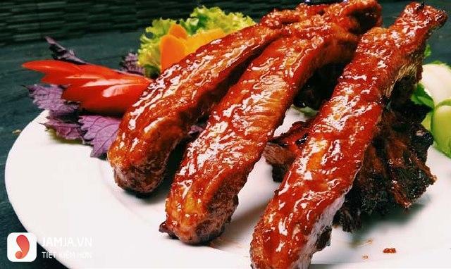 Sườn nướng kiểu Hàn Quốc 2