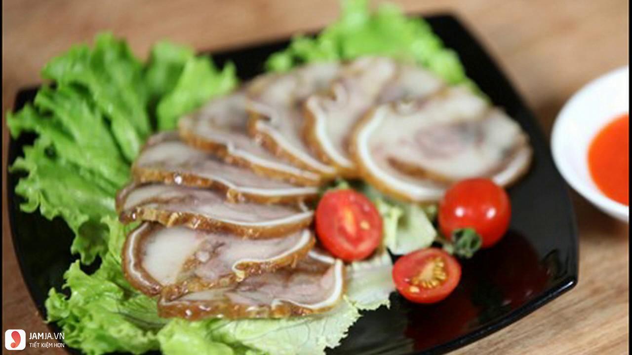 Tai lợn ngũ vị cuộn 1