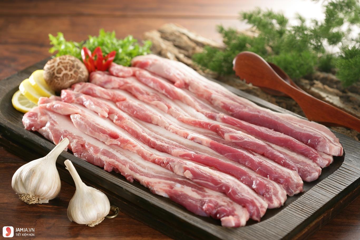 Thịt ba chỉ xiên nướng 1