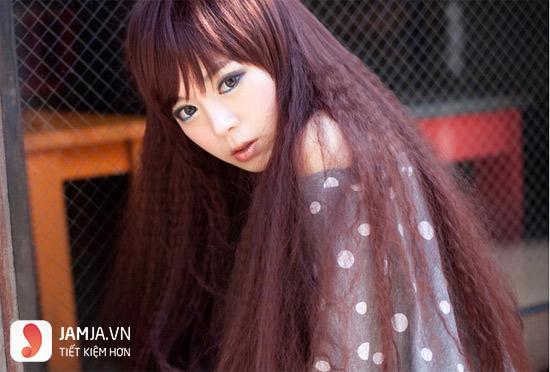 tóc bấm dễ thương 1