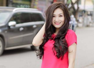 tóc bấm dễ thương