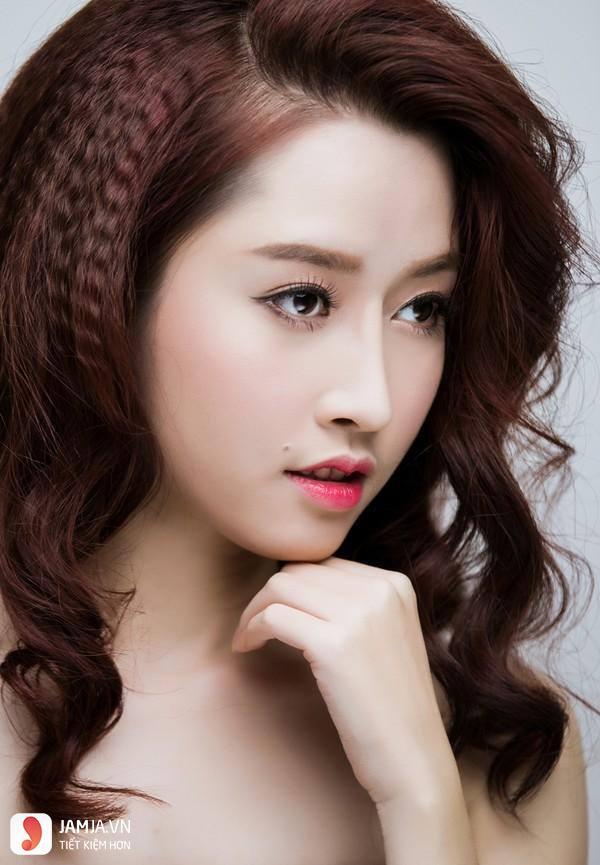 tóc bấm dễ thương 4