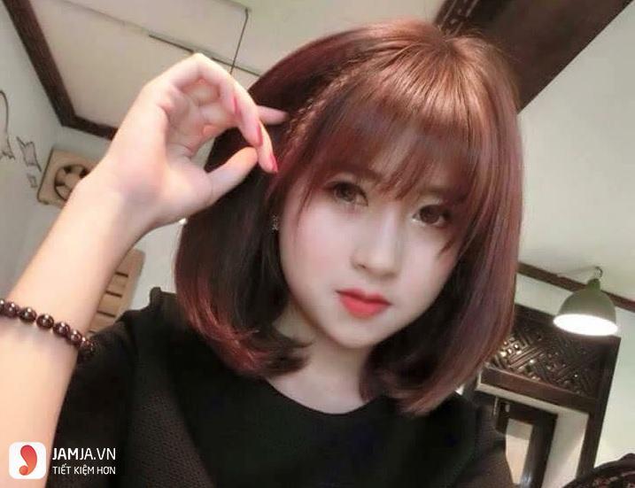 tóc bấm dễ thương 8