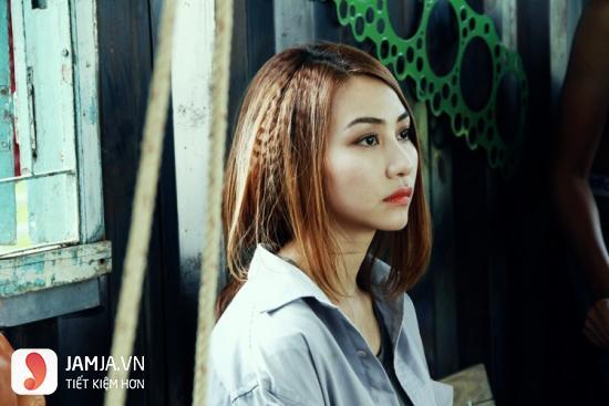 tóc bấm dễ thương 9