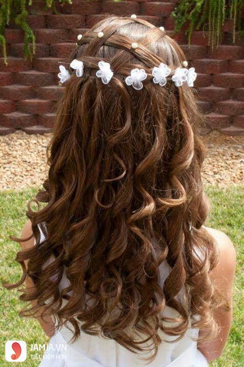 Kiểu tóc tết rối cho bé gái