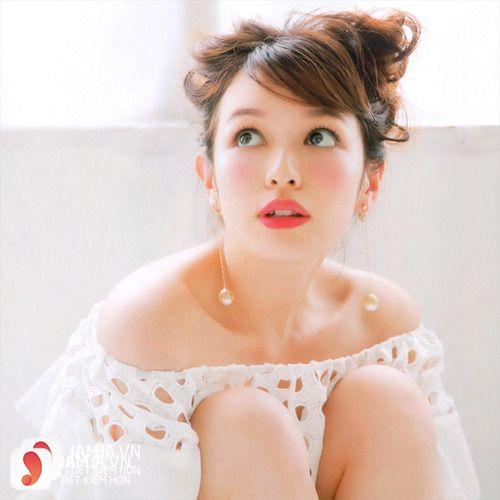 Cách trang điểm sakura Nhật Bản 2