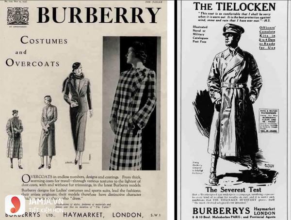 vài nét về thương hiệu burberry