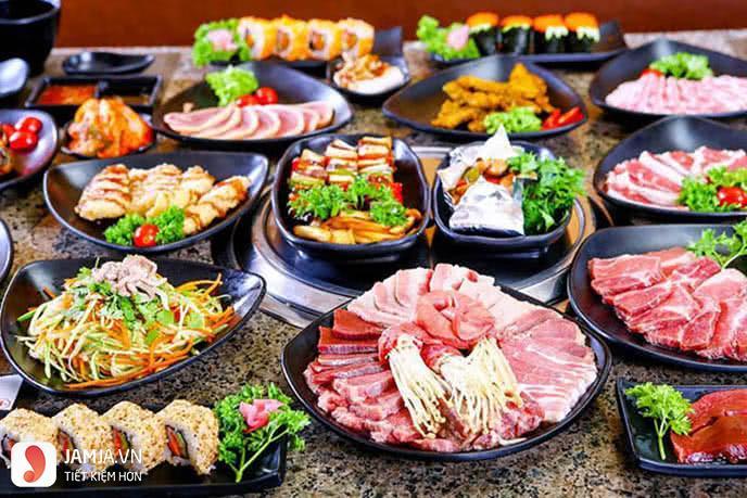 Chiaki BBQ buffet nướng 2