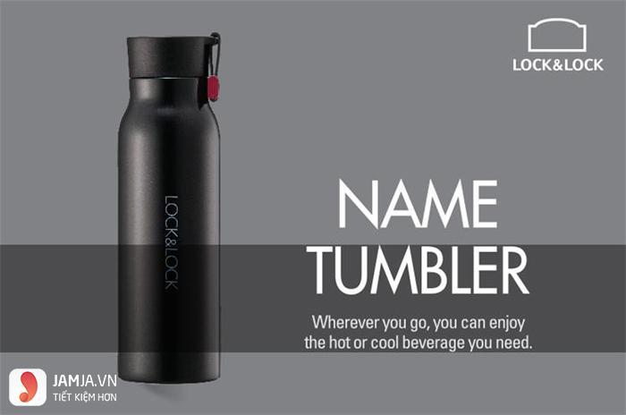 Bình giữ nhiệt Lock and Lock 500ml Name Tumbler LHC4125B - 1