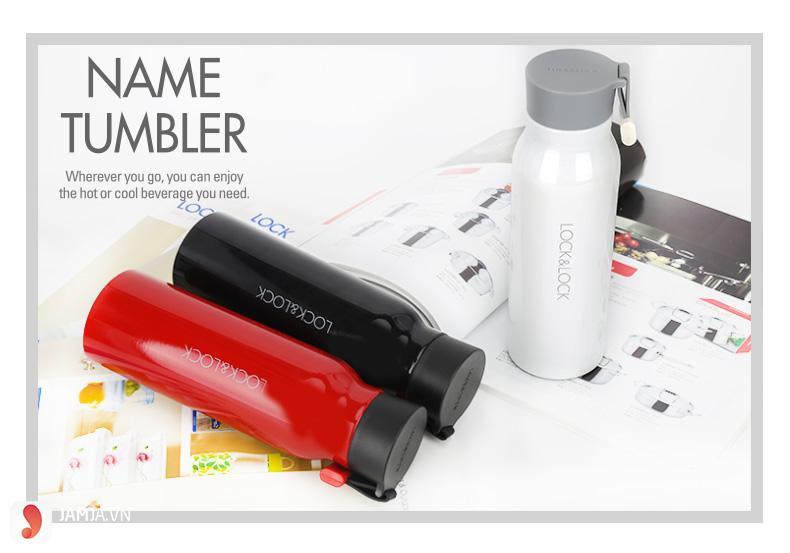 Bình giữ nhiệt Lock and Lock 500ml Name Tumbler LHC4125B - 2