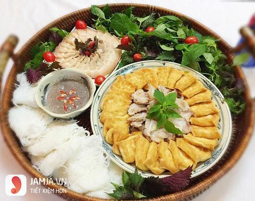 Bún đậu mắm tôm Huy Hoàng