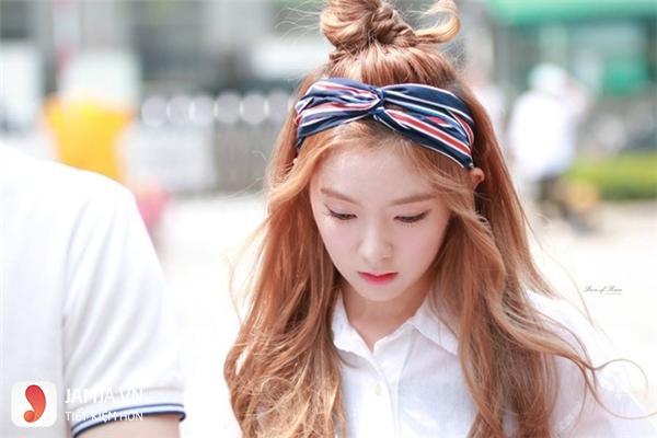 Buộc tóc với khăn Turban - 7