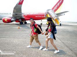 Cách săn vé máy bay giá rẻ của Vietjetair