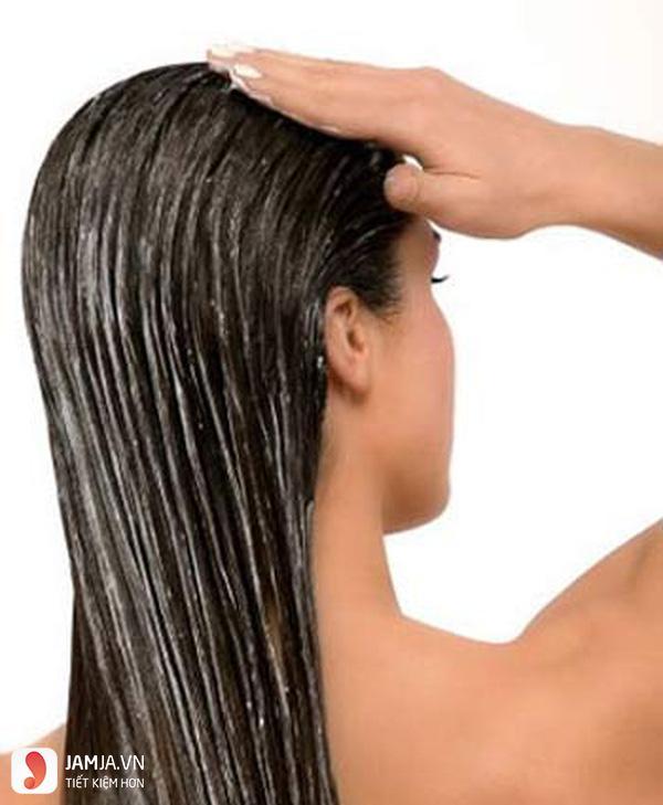 hướng dẫn chăm sóc tóc uốn đuôi ngang lưng 3