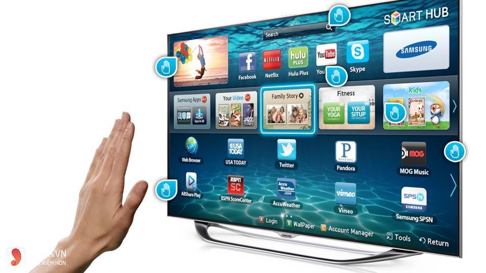 Nên mua smart tivi Samsung hay Sony - 1