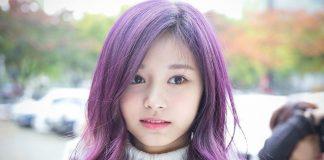 nhuộm tóc màu tím than