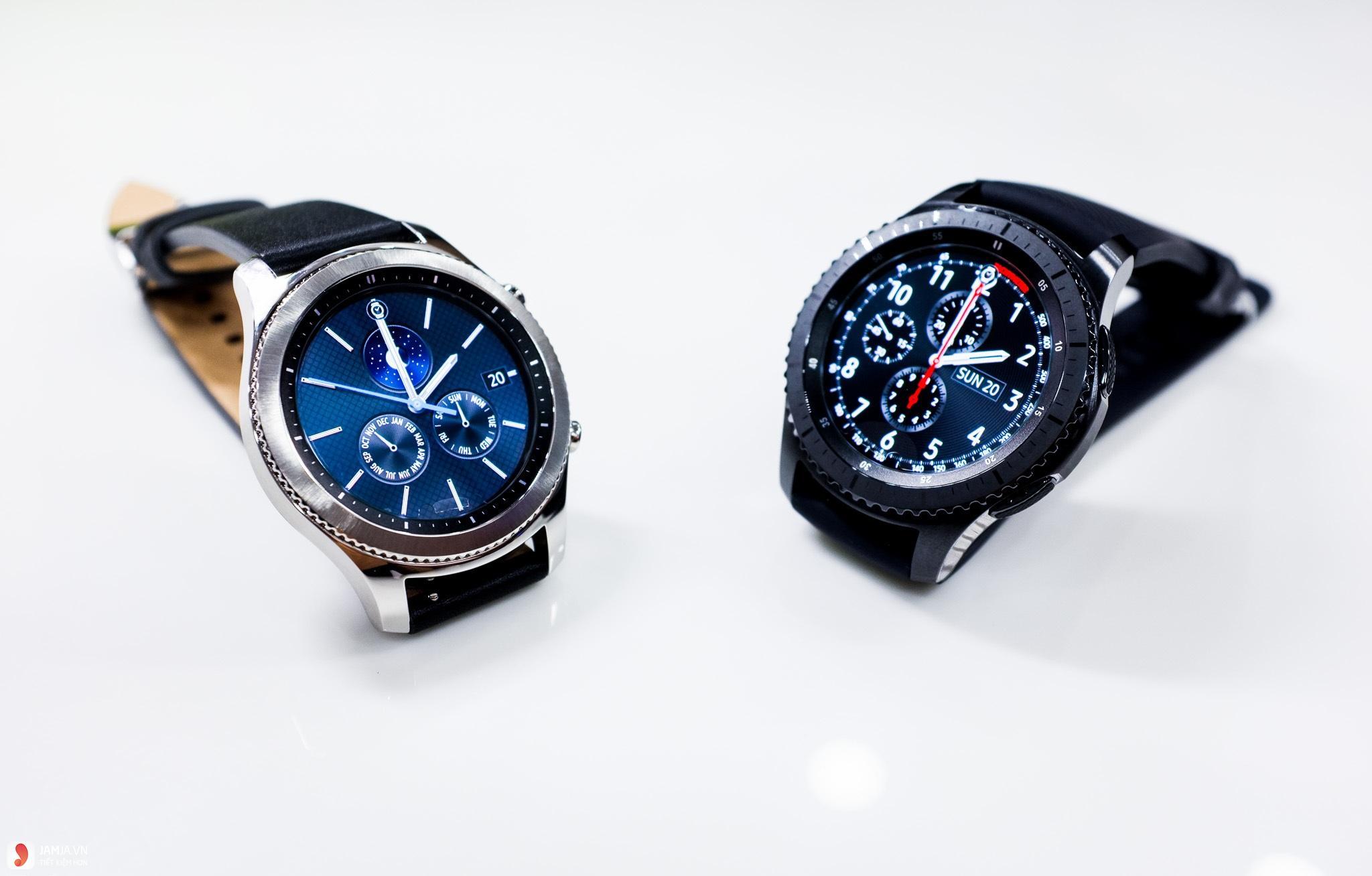 Samsung Gear S3 Frontier và Classic - 2