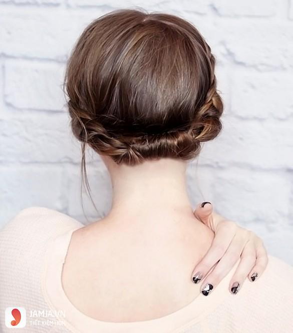 Tạo kiểu tóc tết Bohemian