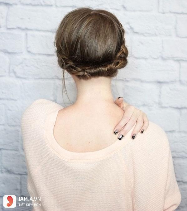 Thắt tóc cho tóc ngắn - 10