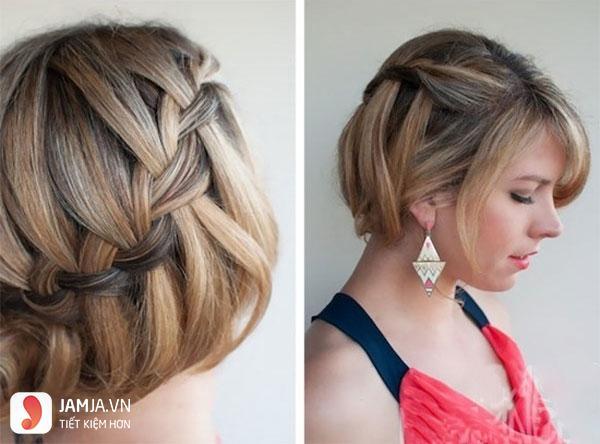 Thắt tóc cho tóc ngắn - 2