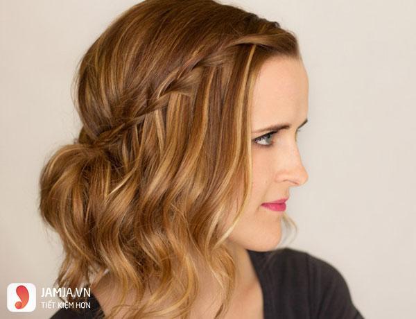 Thắt tóc cho tóc ngắn - 3