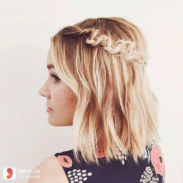 Thắt tóc cho tóc ngắn - 4
