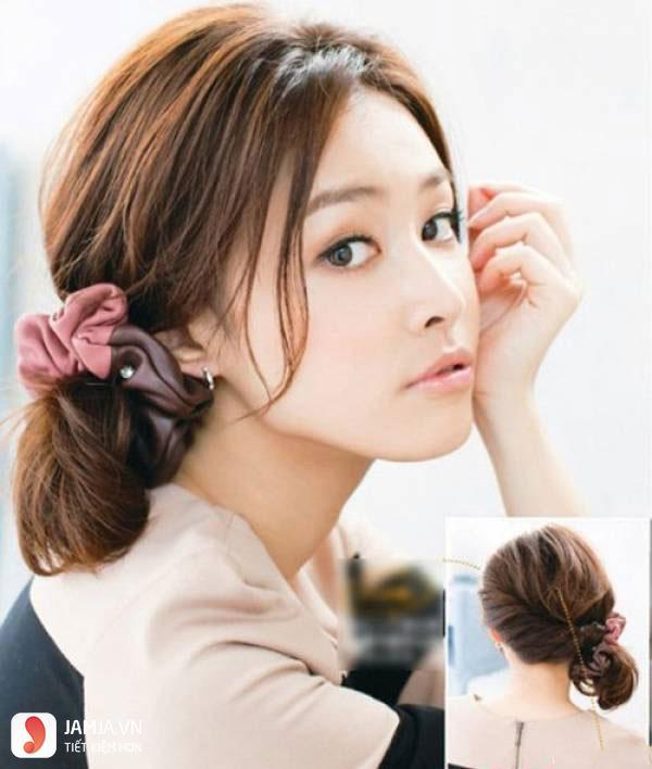 Thắt tóc cho tóc ngắn - 6