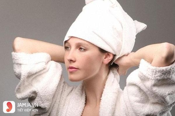 ủ tóc khi nhuộm