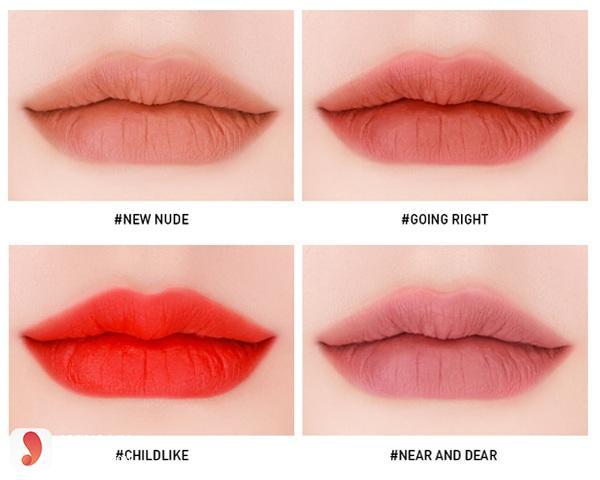 3CE Velvet Lip Tint- Near And Dear 4