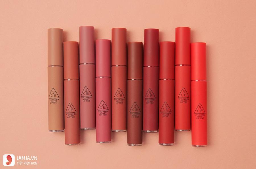 3CE Velvet Lip Tint- Near And Dear 6