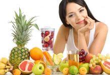 Chế độ ăn cho người bị mụn 1